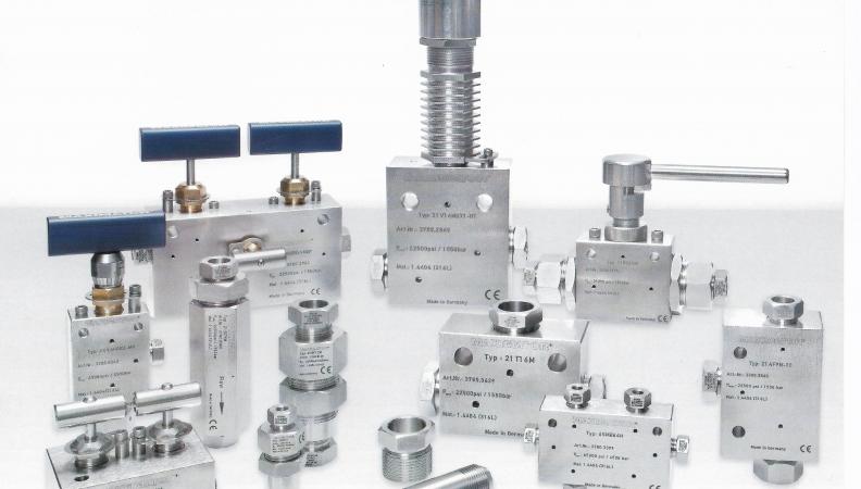 Usos, mantenimiento y características de las válvulas de alta presión