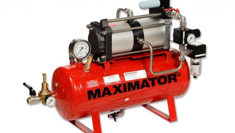 Aumenten la productividad con equipos Maximator de amplificación de aire