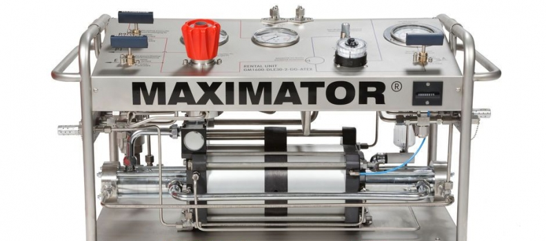 Cómo funciona un multiplicador de presión hidráulica Maximator