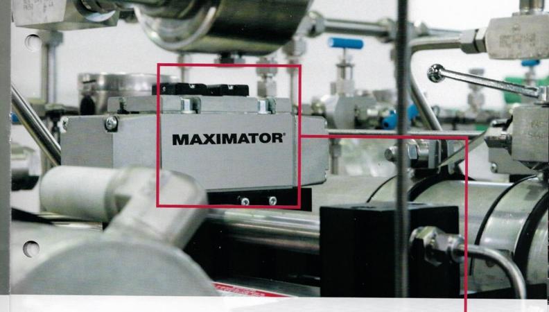 Bombas de alta presión Maximator